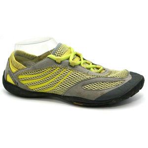 Merrell Womens Pace Glove Sneakers Gray Green Sz 8
